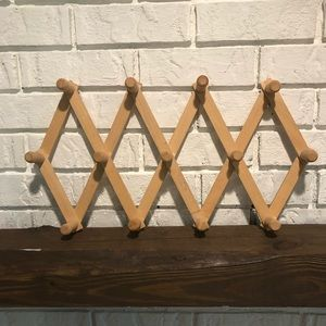Other - Wooden peg rack